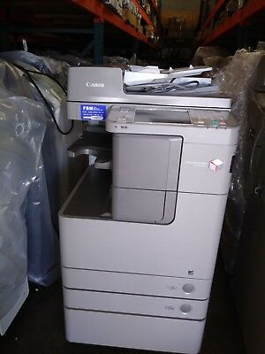 Canon Imagerunner Advance 4245 Printer Copier Scanner Bw Mfp Low Meter