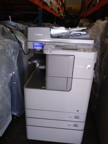 Canon Imagerunner Advance 4245 Printer Copier Scanner B/w Mfp Low Meter