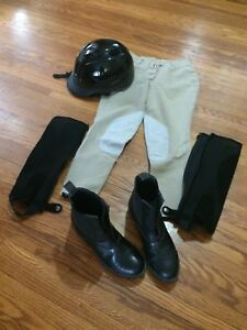 Horseback riding gear