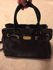 Michael Kors authentic soft black leather purse handbag