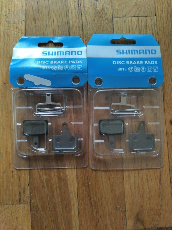 Shimano B01S Resin Disc Brake Pads, 2 pairs