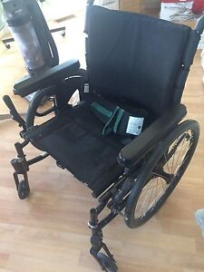 Quickie wheelchair &  soft cushion