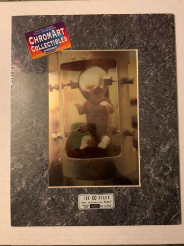The X-Files The Erlenmeyer Flask #653 Limited Edition Framed Foil Print Artwork