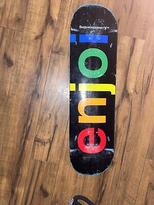 enjoi skateboard deck (8.25)