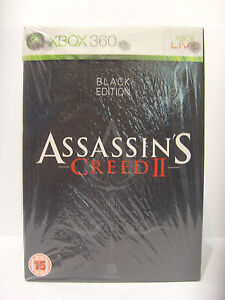 Assassins Creed Black Edition New & Sealed UK Edition Very Rare