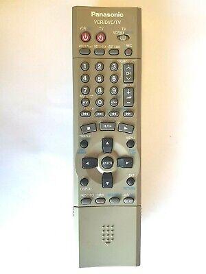 Panasonic DVD / Videorekorder Kombination Fernbedienung EUR7615KB0 Für NVVHD1B