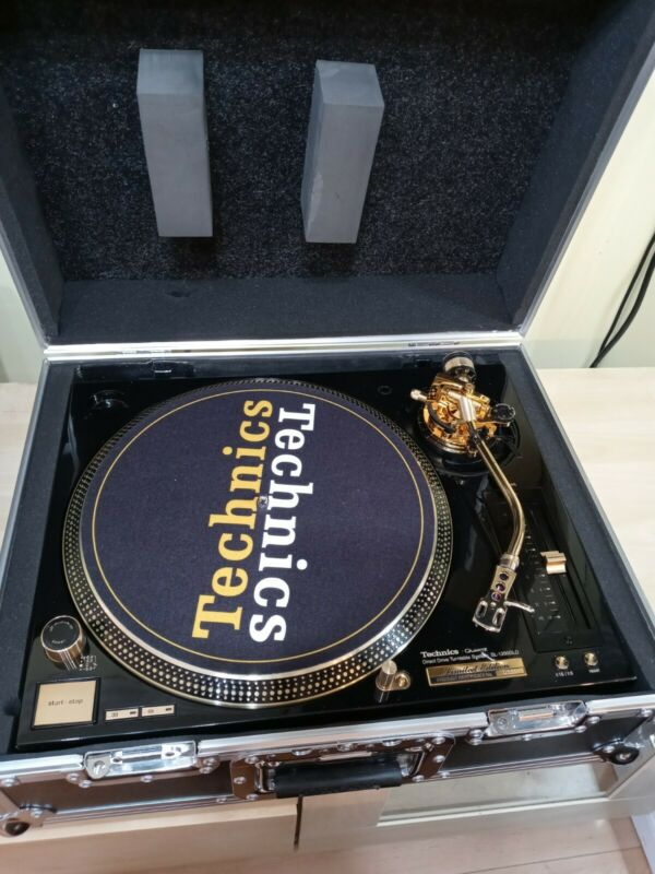 Technics SL-1200GLD 24K Gold-Plated Limited Edition (#331) Turntable EX conditio