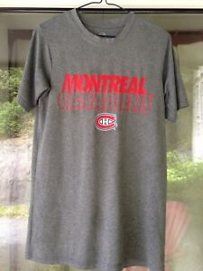 Montreal Canadiens Adult Size Small NHL Shirt...make us an offer