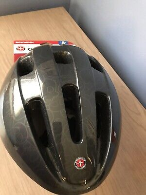 SCHWINN BIKE HELMET - AGE 8+ YOUTH - BLACK - NEW WITH TAGS (AWESOME HELMET)