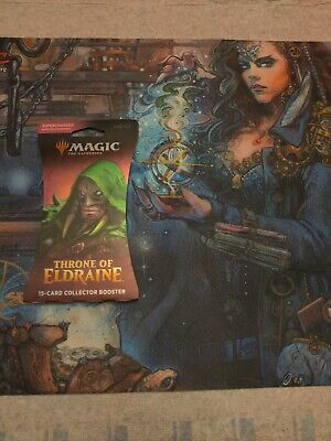 MTG Throne of Eldraine Collector booster pack Sleeve sealed x1