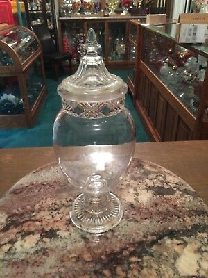 Vintage/Antique Apothecary Candy or Sponge jar for sale  Shipping to Canada
