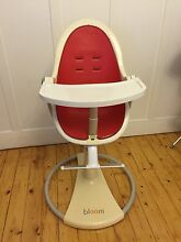 Bloom High Chair with accessories Kew Boroondara Area Preview