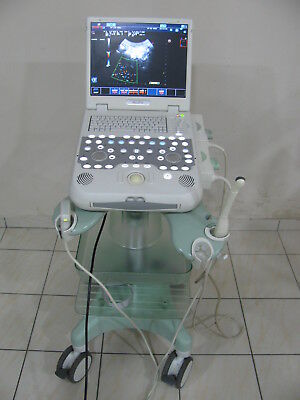 Esaote Mylabfive Ultrasound Machine With Cart And Two Probesconvexvaginal