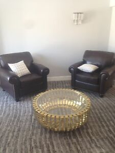 Leather Chairs (BRAND NEW)