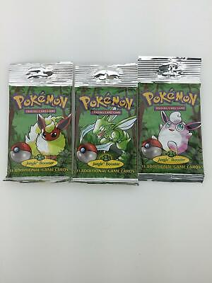 Pokemon Jungle Longpack Booster Pack