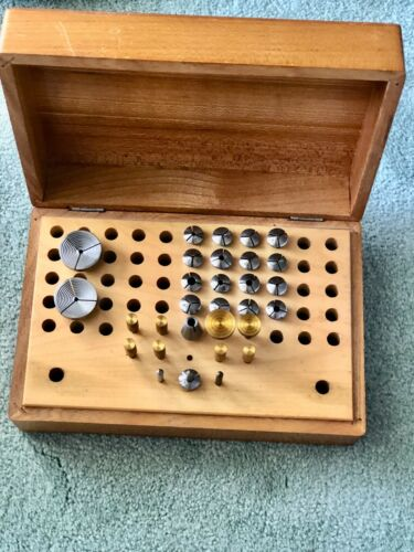 watchmakers .. jewelers...lathe 8mm collets. Boley  . B101