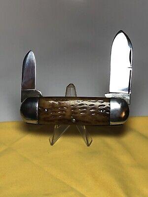 Vintage CAMILLUS CUTLERY CO CAMILLUS N Y USA 2 blade Sunfish Knife