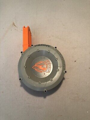 Nerf N-Strike 35-Round Drum Clip 35-Shot Dart Gun Ammo Magazine Barrel Accessory