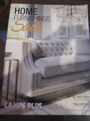 Lamps Plus Catalog Home Furnishings Sale Summer 2017 Catalog Brand New
