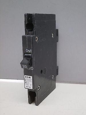 Cutler Hammer Qcr1020 20 Amp Circuit Breaker Din Rail Mount 20A 120 240V Qcf