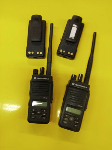 LOT 2x Motorola XPR3500 Radio with Battery (Untested for Parts)