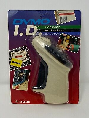 Dymo Id Vintage Manual Label Maker Embosser New In Package No Ribbon