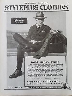 n Kleidung Bekleidung Anzug Hut Original Modischer Anzeige (1920 Herren Bekleidung)