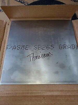 0.125 Titanium Sheet 12x12 Grade 2 Weight 2.93