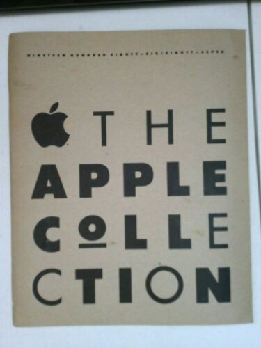 1987 - The Apple Collection Catalog - Rare