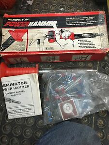 Remington power hammer