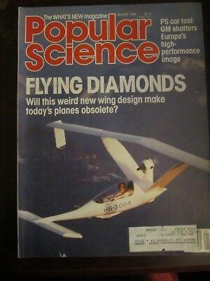 Popular Science Magazine January 1986 Flying Diamonds Wing