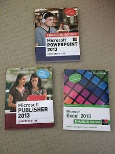 Microsoft Office: PowerPoint, Excel & Publisher Textbooks