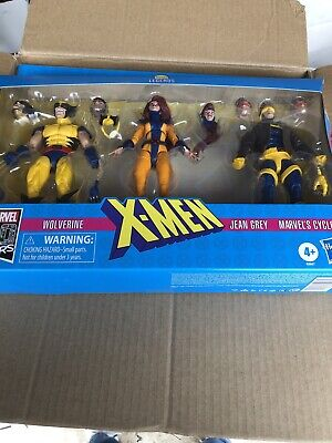 Marvel Legends - 3 Pack - Jean Grey, Wolverine And Cyclops - 6 In - Mint