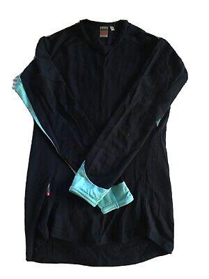 Icebreaker Bodyfit 260 Womens Merino Long Sleeve Shirt Navy
