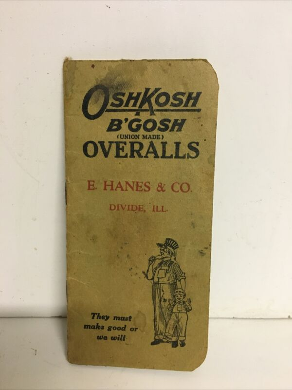 OshKosh B'Gosh Vintage Overalls Union Made Book