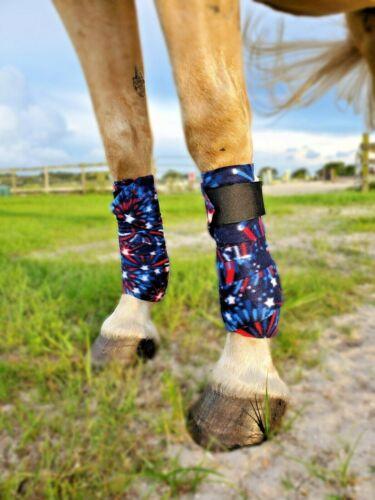 Patriotic Horse Polo Wraps