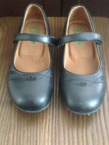 Girls Black Mary Jane Flats size 1