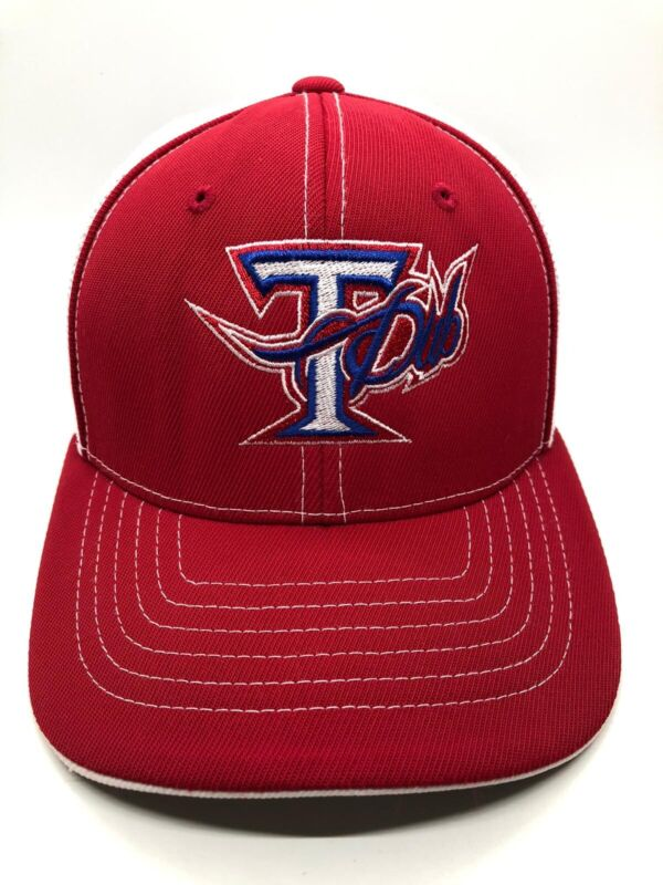 Tdub Cap Hat Trucker Youth 6 3/8 - 6 7/8 Red White Fitted