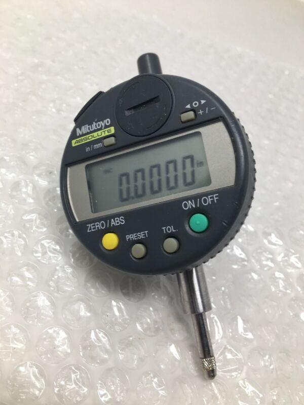 "Mitutoyo 543-272 Absolute Digital Indicator, ID-C1012E, 0-1/2"", .0005"" (.01mm)"