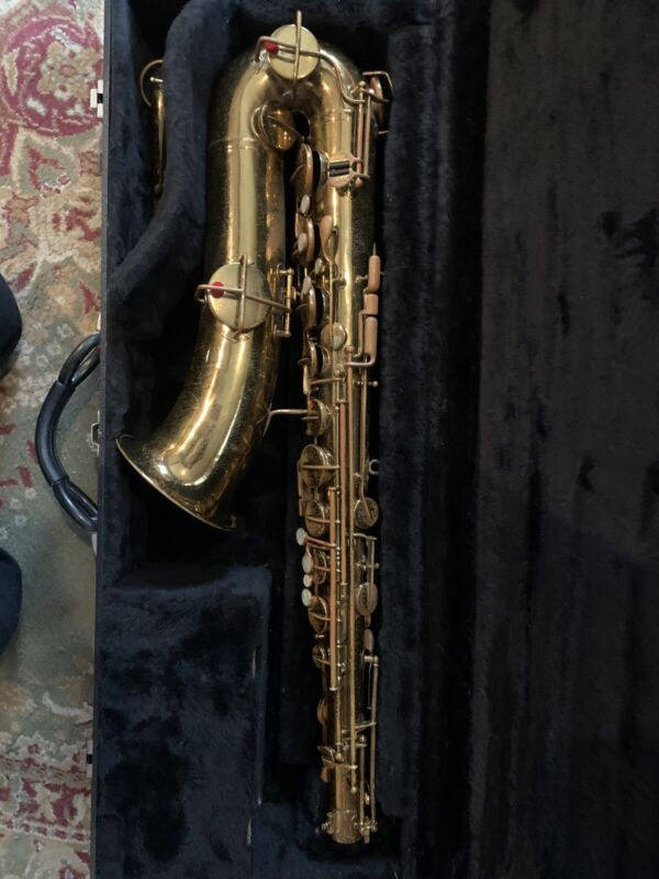 Vintage Buescher True Tone Tenor Saxophone Low Pitch