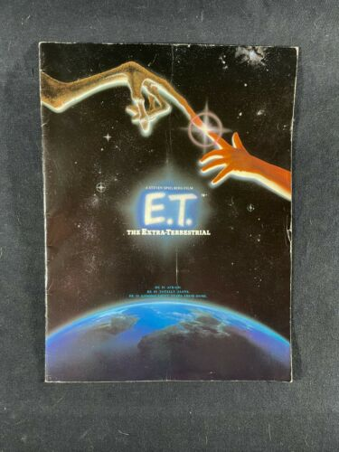 E.T. the Extra-Terrestrial Movie Program Original Steven Spielberg