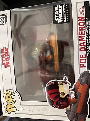 Funko Pop! Star Wars Smuggler's Bounty Exclusive Poe Dameron with X-Wing 227