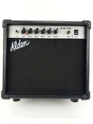 - Alden Guitar Amp Model AG 20 W 15 W AC120V/60Hz