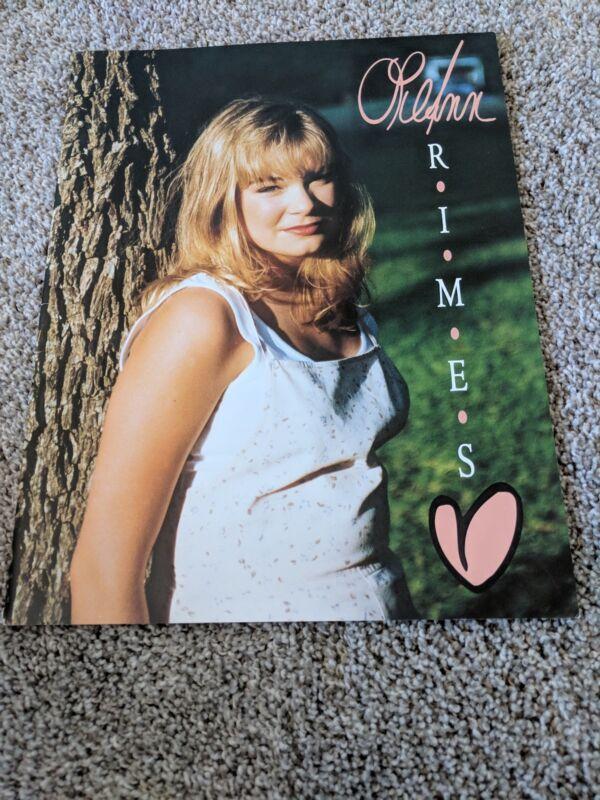 LeAnn Rimes 1996 Tour Book - Blue Tour