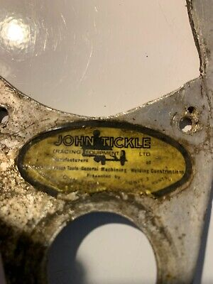 JOHN TICKLE ORIGINAL INSTRUMENT MOUNTS, SPEEDO,TACHO TRIUMPH TRITON NORTON BSA