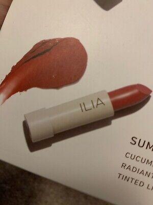 Brand New ILIA Tinted Hydrating Lip Conditioner Natural SPF15 Red Colour Kokomo