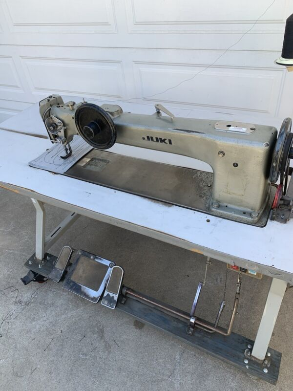 "JUKI LG-158 SINGLE NEEDLE 30"" INDUSTRIAL LONG ARM WALKING FOOT SEWING MACHINE"