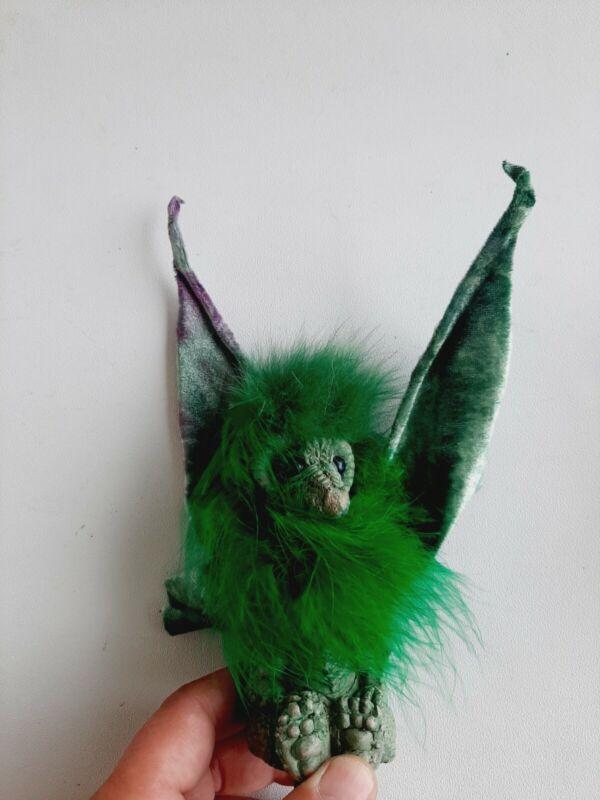 Imaginarium Galleries Albert Alfaro Black Drabbit Shoulder Cable Dragon Puppet