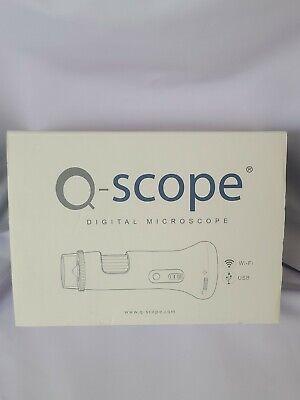 Q-scope Qs.13200-wireless Handheld Digital Microscope Offers 10x-50x And 200x...