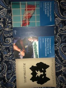 First Year Community & Justice Services/Police Foundations Books